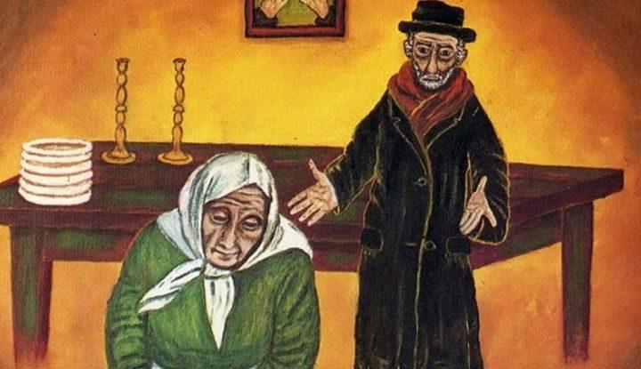 Еврейская притча для всех мам! Жила-была бедная еврейская семья. Детей было много, а денег мало.