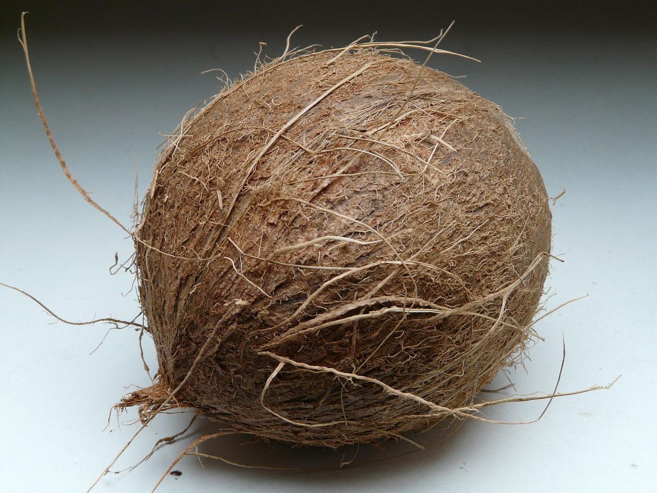 Одной женщине подарили кокосовый орех. На Новый год.