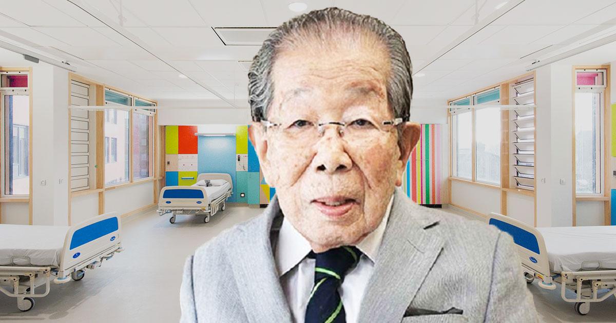 Японский доктор, проживший до 105 лет, раскрыл секрет долголетия