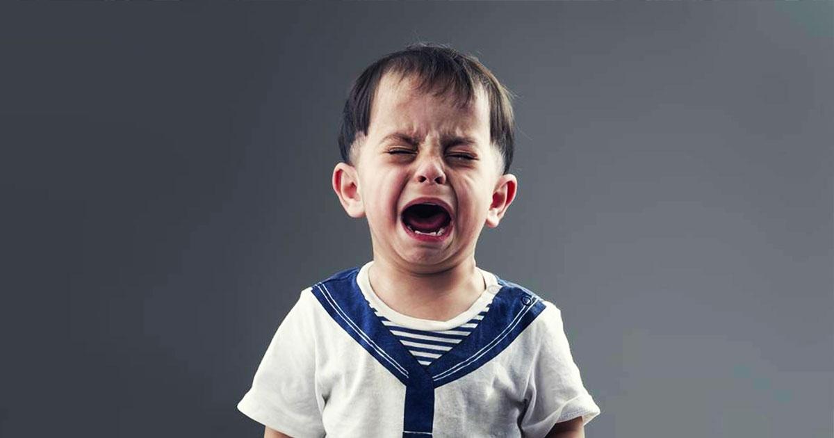 Как прекратить детскую истерику, задав только 1 вопрос
