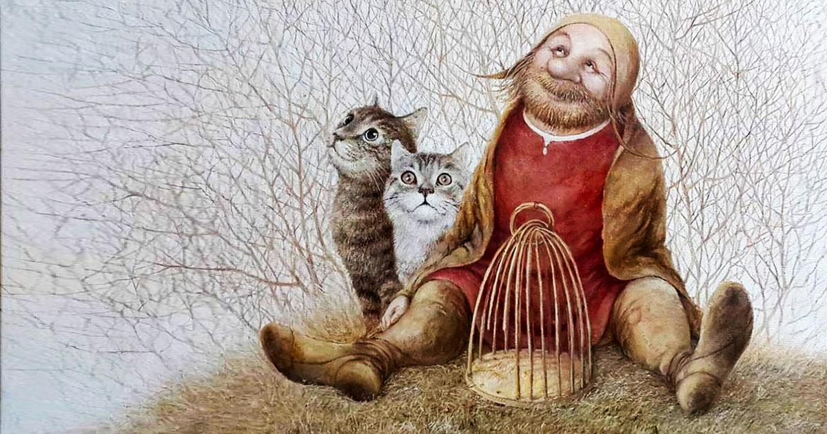 «А добрые люди накормят бездомную кошку» — доброе стихотворение Ирины Самариной-Лабиринт