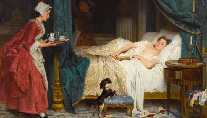 Раньше вот как было: у мужа своя опочивальня, у жены своя — и вот тебе долгая, счастливая жизнь